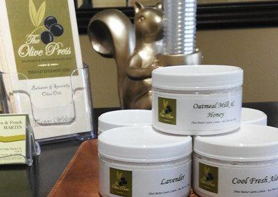 Olive Oil Lotions $7.95 per jar